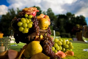Fruit Wedding Centerpiece